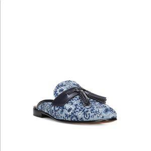 🆕 Sam Edelman Blue Floral Mule